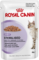 STERILISED (СТЕРИЛАЙЗД в соусе) Пауч 85 г Royal Canin