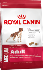 MEDIUM ADULT (МЕДИУМ ЭДАЛТ) Сухой (15 кг) Royal Canin