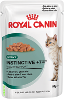 INSTINCTIVE +7 (ИНСТИНКТИВ +7 в соусе) Пауч 85 г Royal Canin
